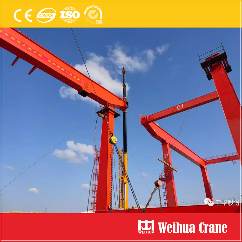Container Crane Erection