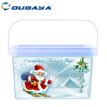 high quality rectangle recycled Plastic Boxes
