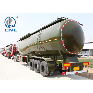 Polyurethane Painting Bulk Cement Transport Truck