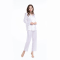 19Momme Silk Pajama Set Full Length Ladies