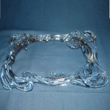 Flower Shape Border Glass Frame