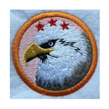 Eagle custom embroidered fashion direct sales professional