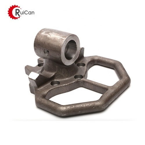 The steel sand casting engineering machinery parts