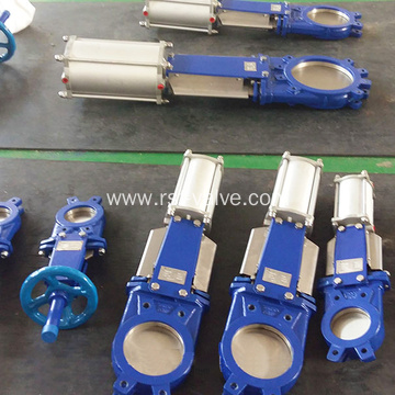 Pneumatic Actuated Knife Gate Valve