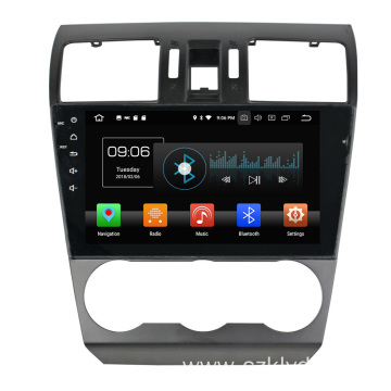 Deckless Android Car DVD for Subaru Forester 2017