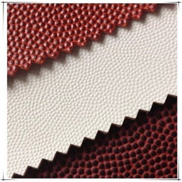 2020 Latest PU Artificial Leather for Basketball Decoration