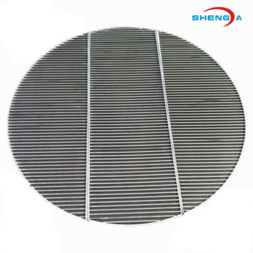 Circle Wedge Wire SS Filter Screen for Industrial