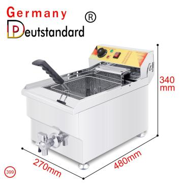 1 tank electric deep fryer