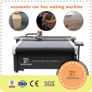 Carton Box Making Plotter Table Machine