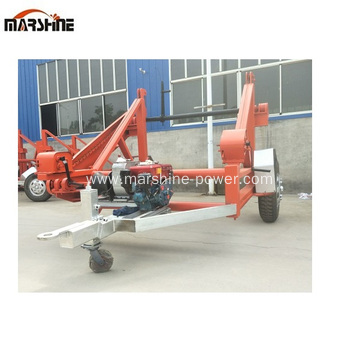 Self Loading Cable Trailer Trailer Wire Spool