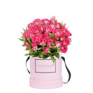 Fresh flower case luxury cardboard packaging with inner