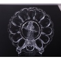 Pressed Glass Deviled Egg Dish Wholesale