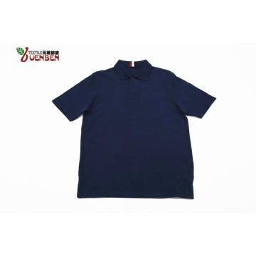 100%Cotton Solid PK With Jacquard Collar Men's Polo