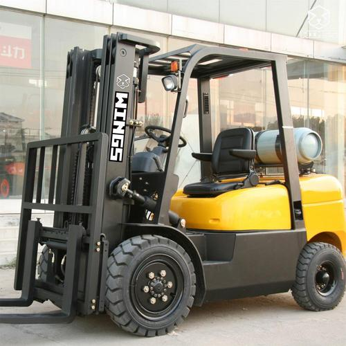 3.5 T Gasoline&LPG Forklift 4m Lifting Height