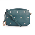 Fashion Embroidery Vintage Cow Leather Crossbody Women Bags