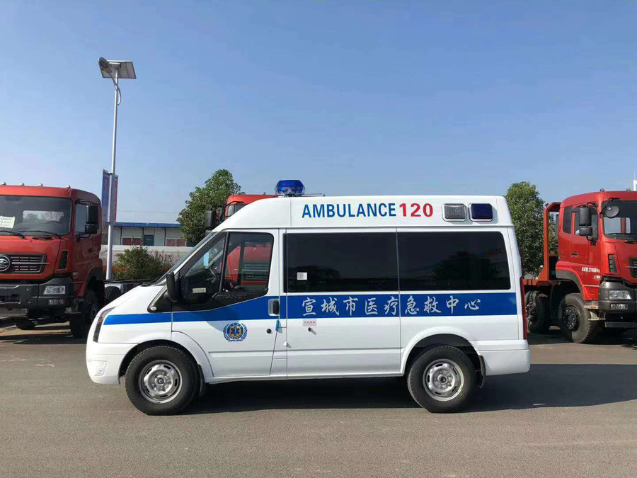 mobile epidemic control ambulance manufacturer