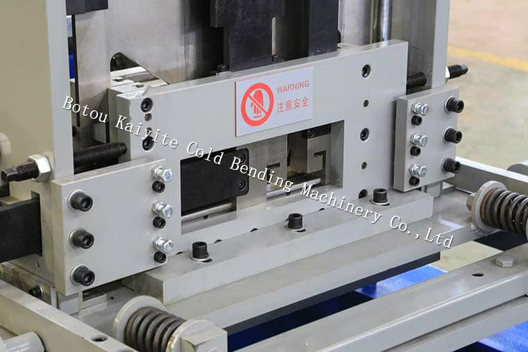 Steel structure building frame c z pulrin roll forming machine