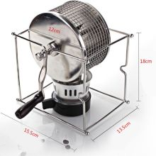 Protable Manual Handy Coffee Bean Roaster Set Stainless Steel Mill Hand Crank Dropshipping