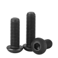 ISO7380 Hex Socket Head Screws Black Zinc