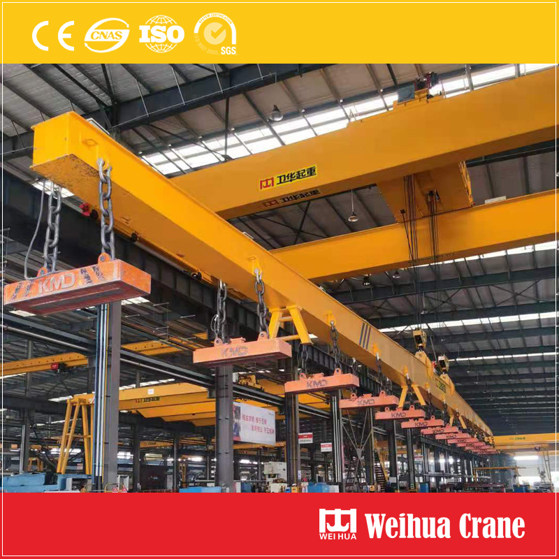 magnetic-block-crane-spreader