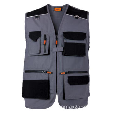 Gilet in tela 270 gsm multitasche