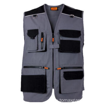 Multi-pockets 270gsm Canvas Vest