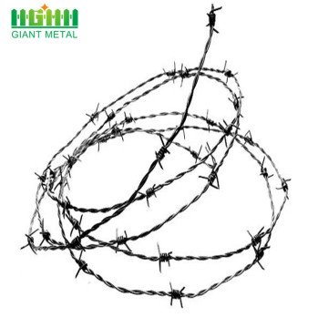 Barbed Fence Iron Mesh Fence Galvanize Wire Spools