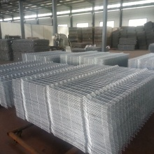 Boundary PVC Coated curvy welded wire mesh fence