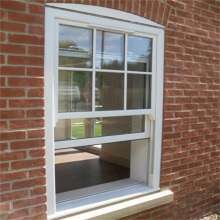 Aluminum Double Hung Vertical Gliding Windows