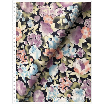 100% cotton twill print fabric for dress