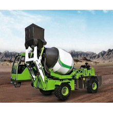 1.8CBM concrete self loading mixer truck