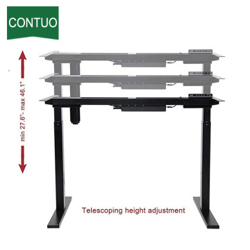 Adjustable Office Desktop Frame For Standing And Sitting
