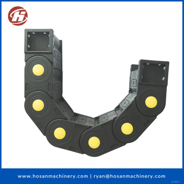 Plastic drag chain use to electric cable