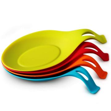 Heat Resistant Silicone Spoon Utensil Holder