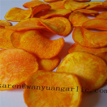 VF carrot chips with fast delivery