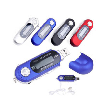 New Portable Mini USB Flash LCD Digital MP3 Player Support Flash 32GB TF Card Slot Music Player FM Radio