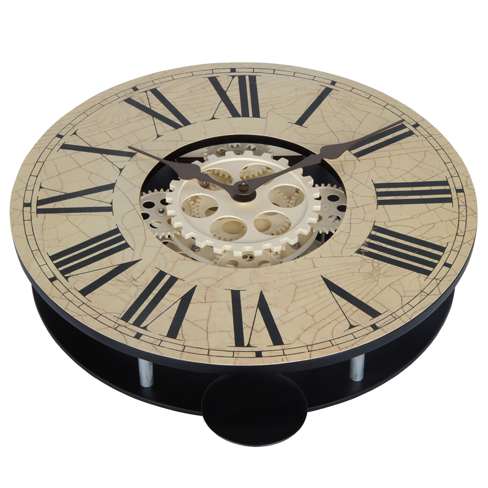 Oversized Gear Wall Clock