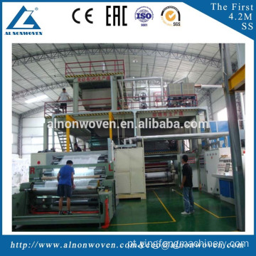 Brand New Non Woven Fabric Making Machine AL-2400mm SMS with Reasonable Price