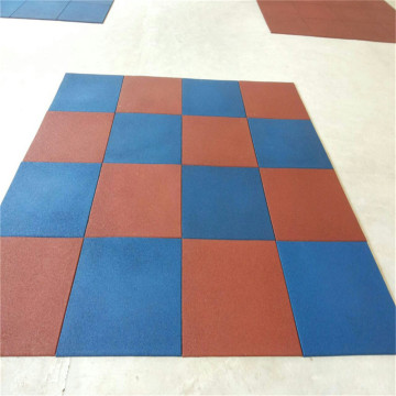 safety rubber kids outdoor playground floor tile