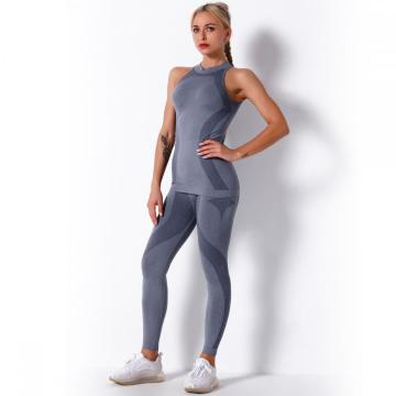 Gym Yoga Biker Short Sets for Women