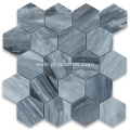 Hexagon Pattern Mosaic Tiles for Home Interiors