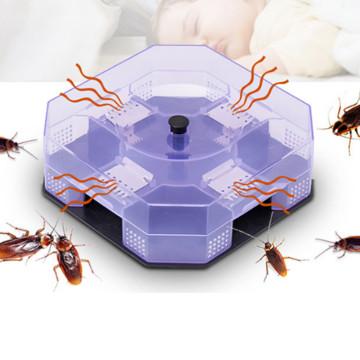 Household Cockroach Traps Box Reusable Cockroach Bug Roach Catcher Cockroach Killer Bait Traps Pesticide For Kitchen New #BL1