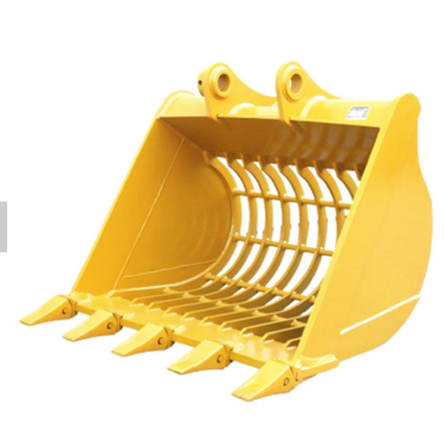 excavator attachments skeleton buckets with cutters teeth