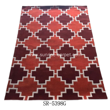 Polyester Acrylic Hand Tufted Carpet