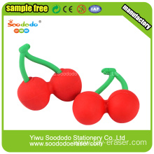Novelty Cherry Shaped Eco-friendly Eraser