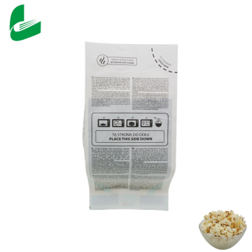 Packaging Clear Custom Logo Wholesale Best Selling Packaging Microwave Popcorn Paper Bag