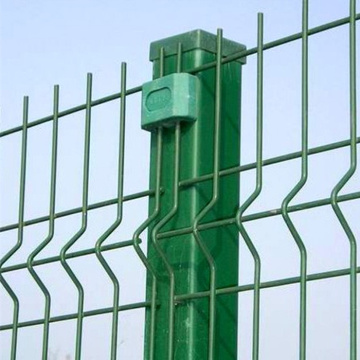 3D Curved Welded Garden Wire Mesh Fence