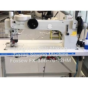 Long Arm Sails Making ZigZag Sewing Machine