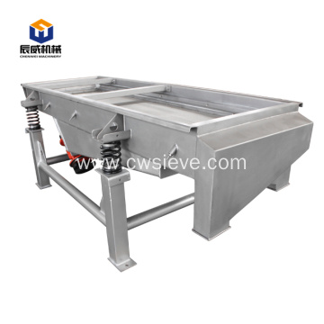 different sizes linear vibrating screen/sieving machine