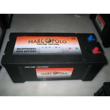 DIN 12V 143Ah MF Car batteries
